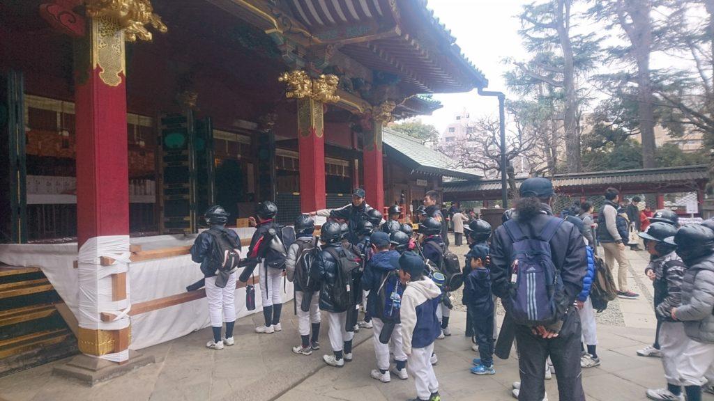 2019根津神社参拝